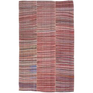 Striped Mazanderan Kilim For Sale