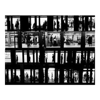 New York City Subway Voyeur Photograph