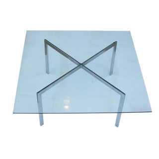 Mies Van Der Rohe Barcelona Style Table For Sale
