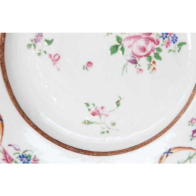Early 19th Century Chinese Porcelain Plates Set of Six For Sale - Image 9 of 13