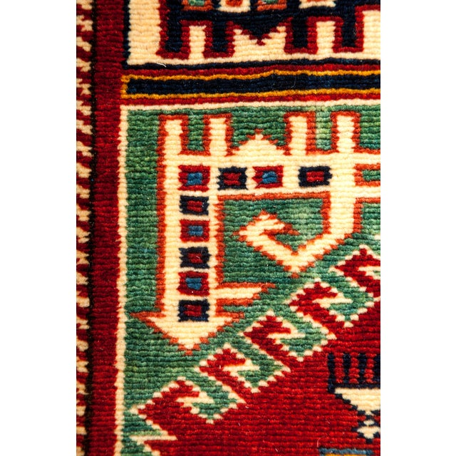 """New Traditional Hand Knotted Area Rug - 5' x 6'9"""" - Image 3 of 3"""