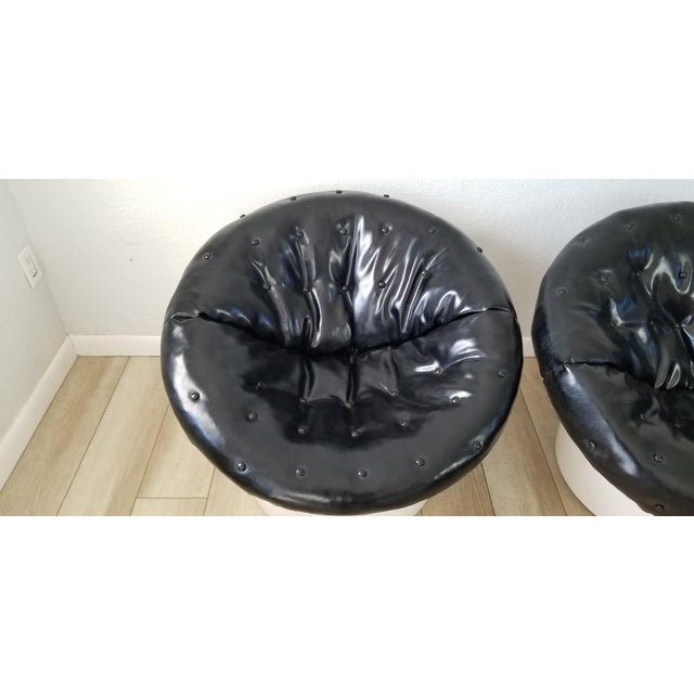 Postmodern Italian Postmodern Style Out / Indoor Club Chairs a Pair . For Sale - Image 3 of 12