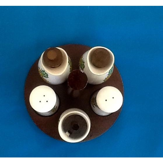 Mid-Century Atomic Style Oil & Vinegar Set - Image 4 of 4