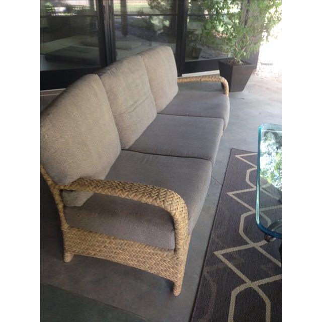 Brown Jordan Outdoor Patio Sofa - Image 4 of 10
