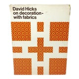 Image of David Hicks on Decoration With Fabrics For Sale