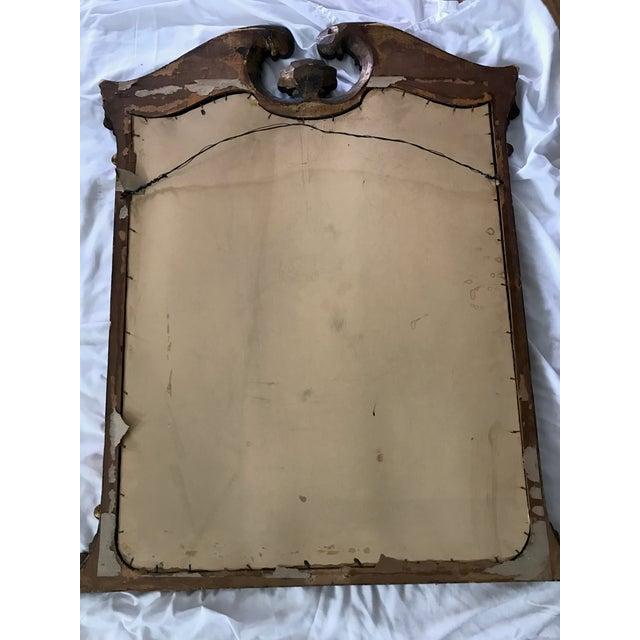 Antique Ebonized Giltwood Mirror - Image 10 of 11