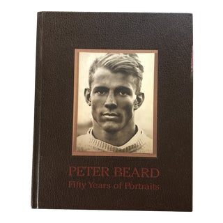 Peter Beard Signed Fifty Years of Portraits Book. For Sale