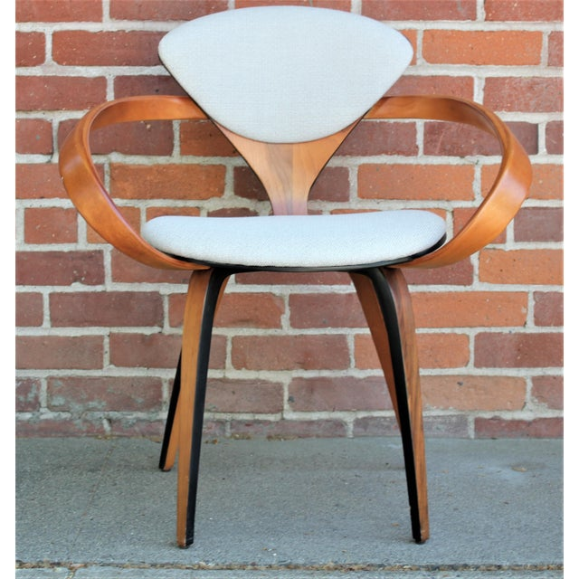 Plycraft 1950s Vintage Norman Cherner for Plycraft Molded Plywood Dining Chairs- Set of 6 For Sale - Image 4 of 13