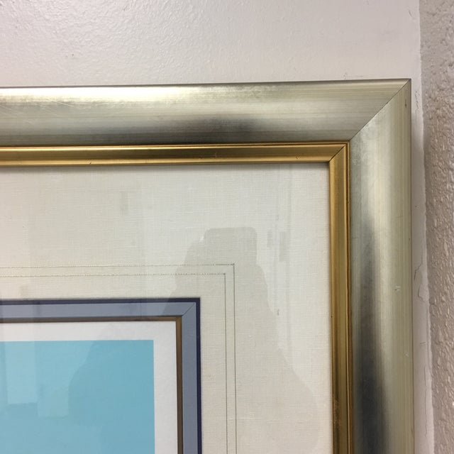 "Impressionism Howard Behrens ""Old World Charm"" Framed Serigraph For Sale - Image 3 of 8"