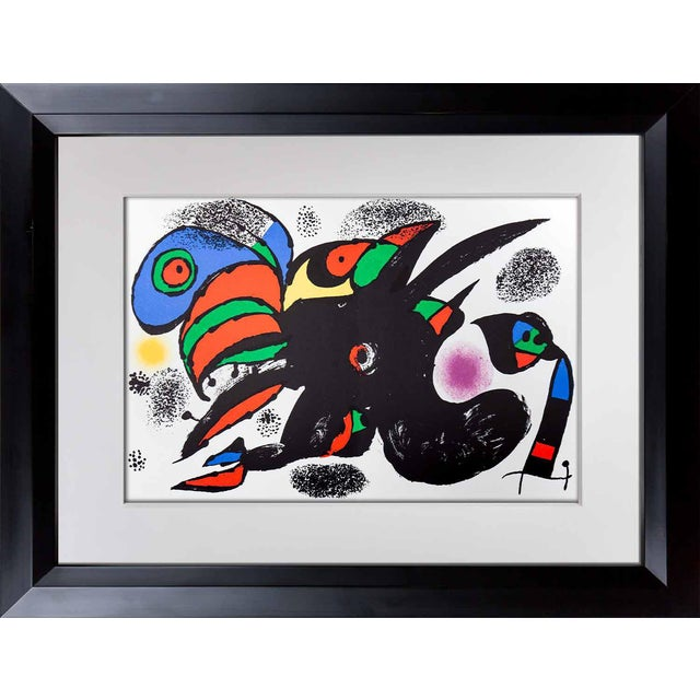 Original Joan Miro Lithograph For Sale