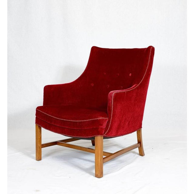 Frits Henningsen lounge chair from the 1940s. Store formerly known as ARTFUL DODGER INC