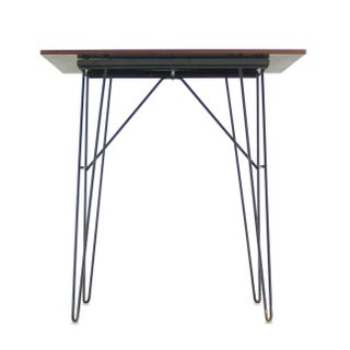 Vintage Mid Century Console Tables on Wire Legs- a Pair Preview