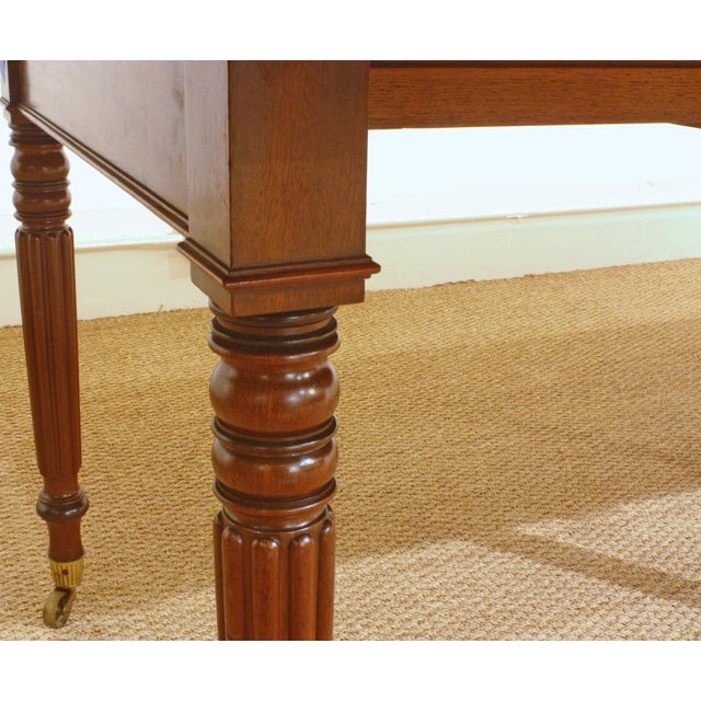 ENGLISH REGENCY DINING TABLE IN THE MANNER OF GILLOWS - Image 5 of 8