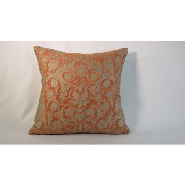 Fortuny Modern Italian Fortuny Pillow For Sale - Image 4 of 4