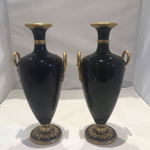 Ceramic 19th Century Royal Worcester Vases - a Pair For Sale - Image 7 of 13