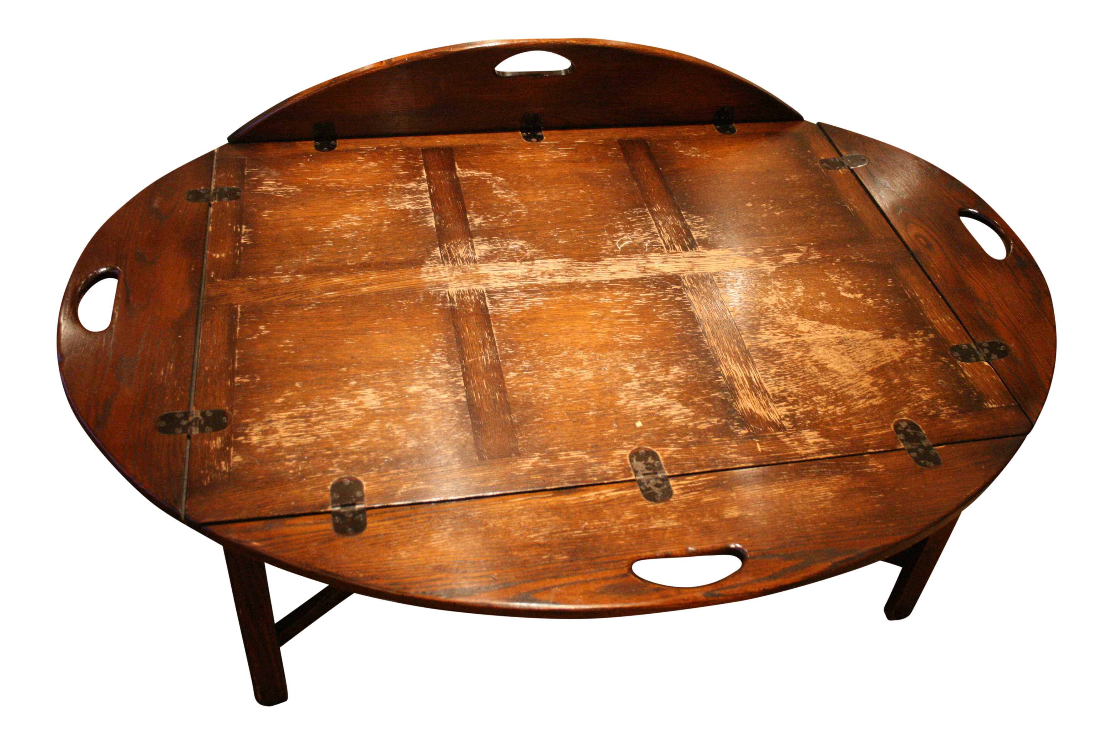 Ordinaire American Antique Style Butleru0027s Tray Coffee Table