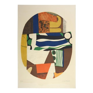 Max Papart Abstract Lithograph