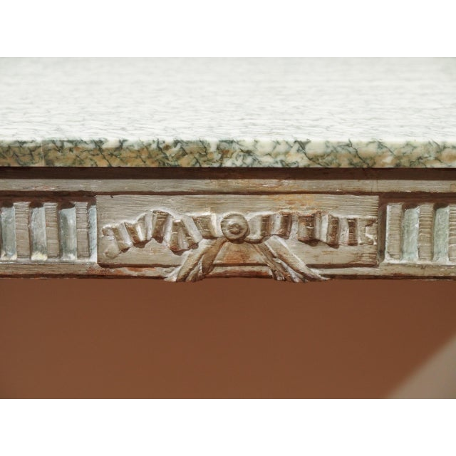 Louis XVI Console Table For Sale In New Orleans - Image 6 of 10