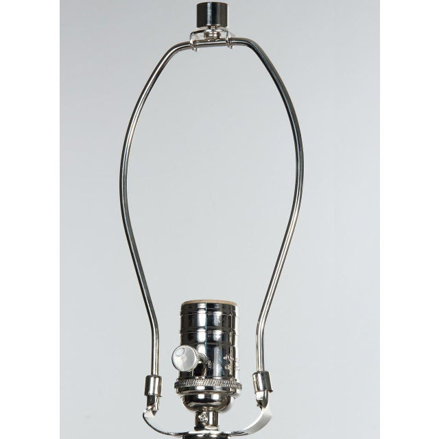 Contemporary Gold & Green Vector Table Lamp For Sale - Image 3 of 8
