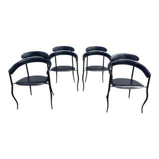 Arrben Italian Stiletto Chairs - Set of 4 For Sale