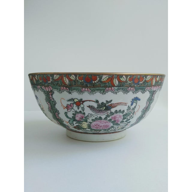 A large famille rose bowl is a decor staple! Sprinkle bowls like this throughout your abode for a happy home.