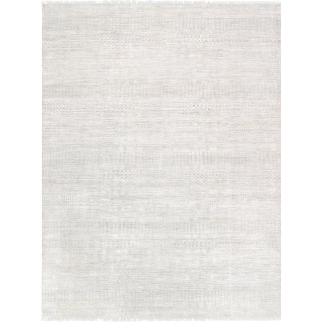 "Pasargad Transitional Silk & Wool Area Rug - 9' 0"" x 11'10"" - Image 1 of 2"