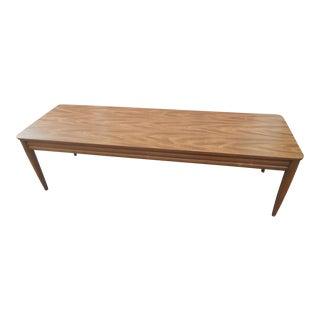 1960s Danish Modern Mersman Coffee Table For Sale