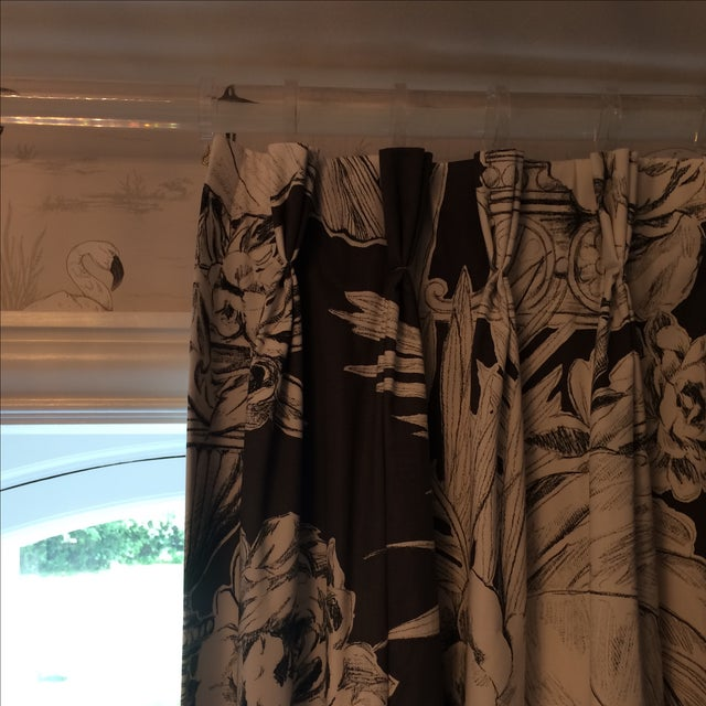 Designers Guild Curtain Panels - Set of 4 - Image 4 of 7
