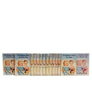 Vintage Bobbsey Twins Dustjacket Book Set (S/14) For Sale
