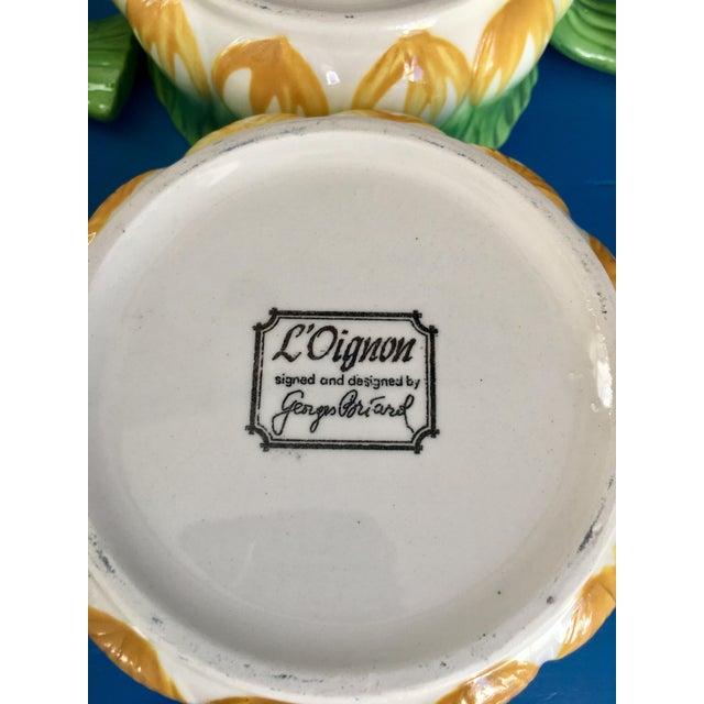 Vintage Georges Briard l'Oignon Soup Bowls- Set of 6 For Sale - Image 10 of 12