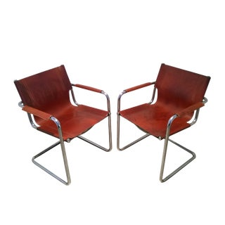 1970s Vintage Bauhaus Chairs- A Pair For Sale