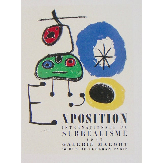 Miro Exhibition Poster - Image 3 of 3