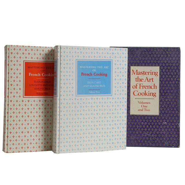 Mastering the Art of French Cooking Vols I & II by Julia Child. New York: Alfred A. Knopf, 1974. 2 vols. 25th Printing....