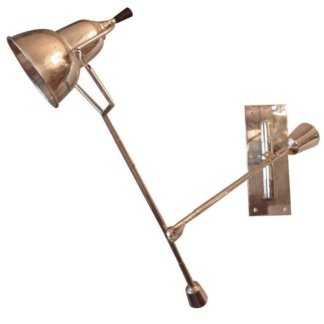 Metal 1920's Wall Lamp by Edouard Buquet For Sale - Image 7 of 7