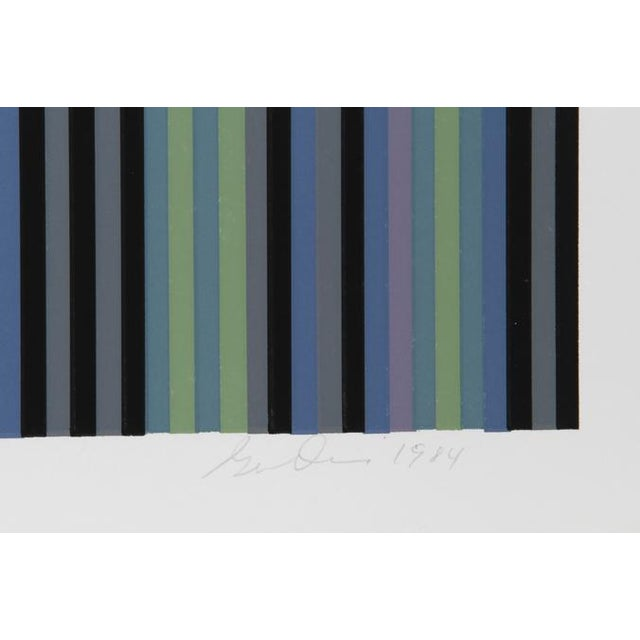 Artist: Gene Davis, American (1920 - 1985) Title: Voodoo Year: 1984 Medium: Silkscreen, signed, dated and numbered in...