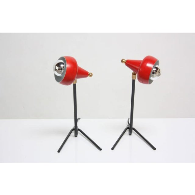 Pair of Petite Italian Table Lamps or Wall Sconces - Image 2 of 10