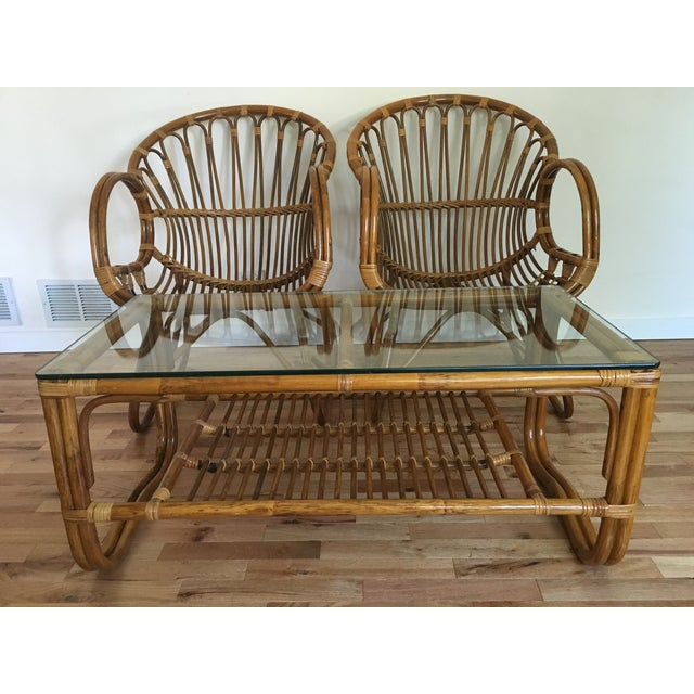 1960s Franco Albini Style Scoop Chairs - Pair For Sale In Chicago - Image 6 of 6