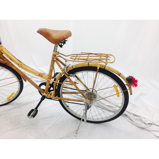 Vintage Bamboo Bicycle - Full Size - Image 8 of 11