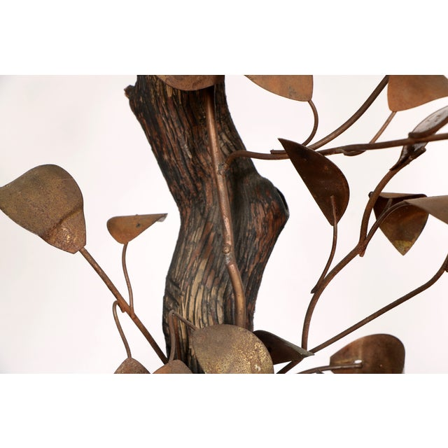 Curtis Jeré-Style Tree Sculpture & Lamp - Image 11 of 11