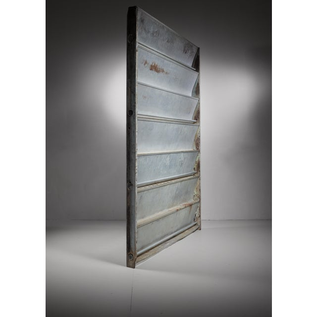 Industrial Jean Prouvé Sliding Panel or room divider, Cameroon, 1964 For Sale - Image 3 of 6