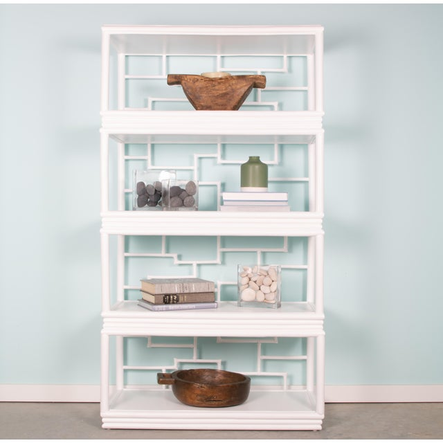 Tibet Etagere - White For Sale - Image 9 of 10