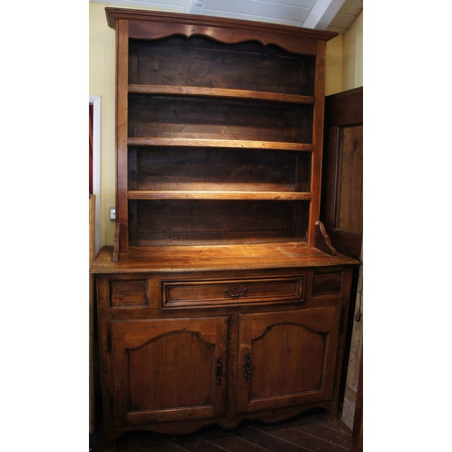 18th Century Antique French Walnut Hutch - Image 2 of 5