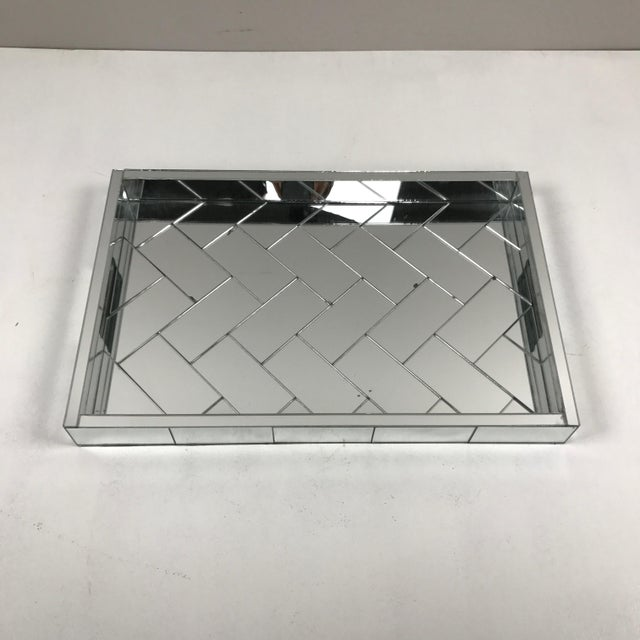 Decorative Mirrored Table Tray - Image 3 of 8