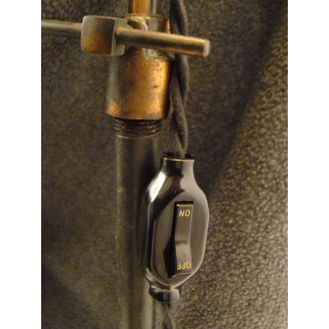 Antique Victorian Cast Iron Adjustable Floor Lamp - Image 8 of 11