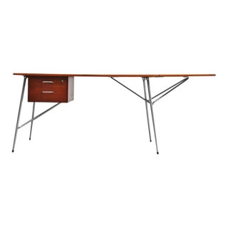 Borge Mogensen Drop Leaf Desk by Soborg Denmark, 1950 For Sale