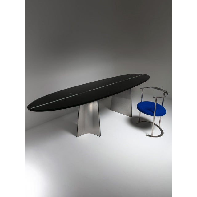 """Rare """"Ufo"""" Table by Luigi Saccardo for Arrmet For Sale - Image 6 of 7"""