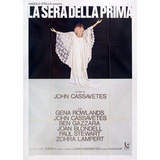 Opening Night 1977 Italian Quattro Fogli Film Poster For Sale