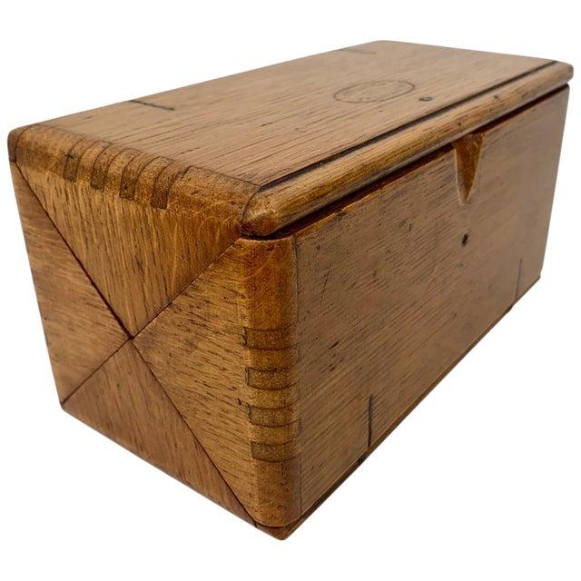 1889 American Puzzle Box For Sale