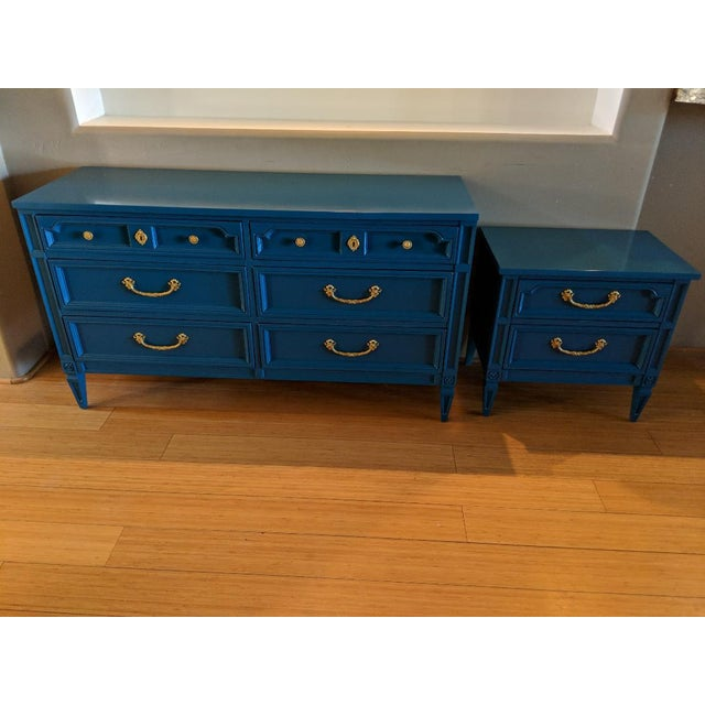 Absolutely stunning Basic Witz six drawer dresser. All dovetail drawers are clean and slide beautifully. Original hardware...