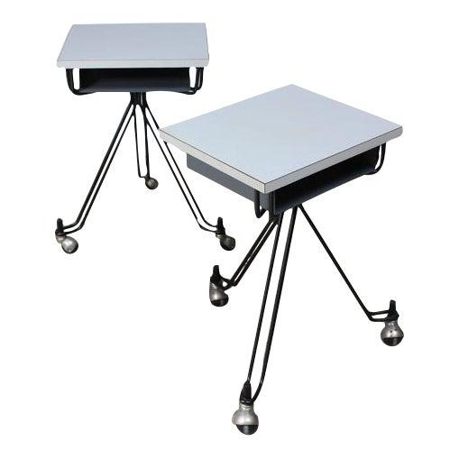 Pair of Eliot Noyes IBM Tables - Image 1 of 10